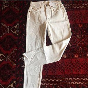 GRLFRND Jeans - GRLFRN Karolina white jean